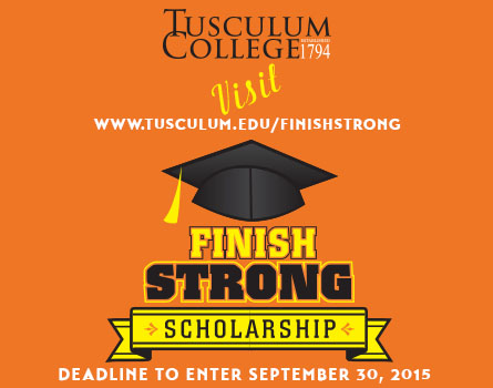 Finish Strong Scholarship Contest