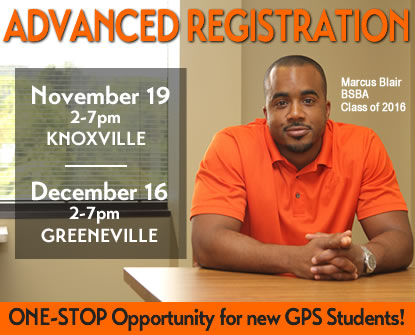 GPS Advanced Registration
