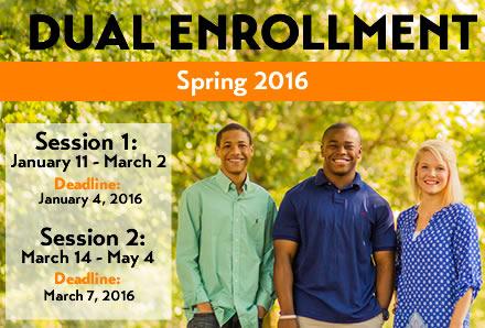 Spring 2016 Dual Enrollment